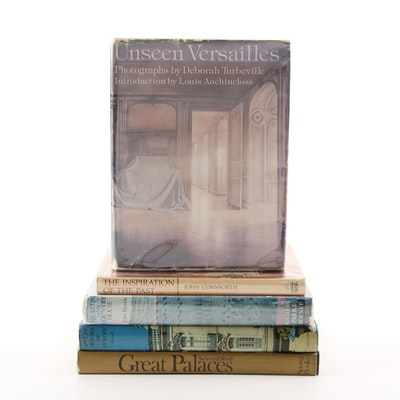 "First Edition ""Unseen Versailles"" with More Books on Architecture and Design"