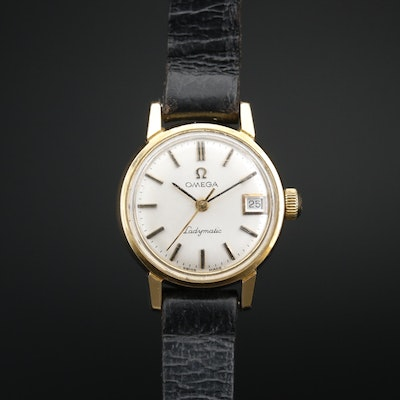 1968 Omega Ladymatic Gold Plated Automatic Wristwatch