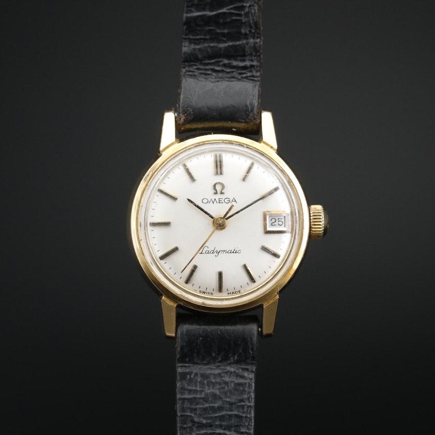 1968 Omega Ladymatic Gold Plated Automatic Wristwatch