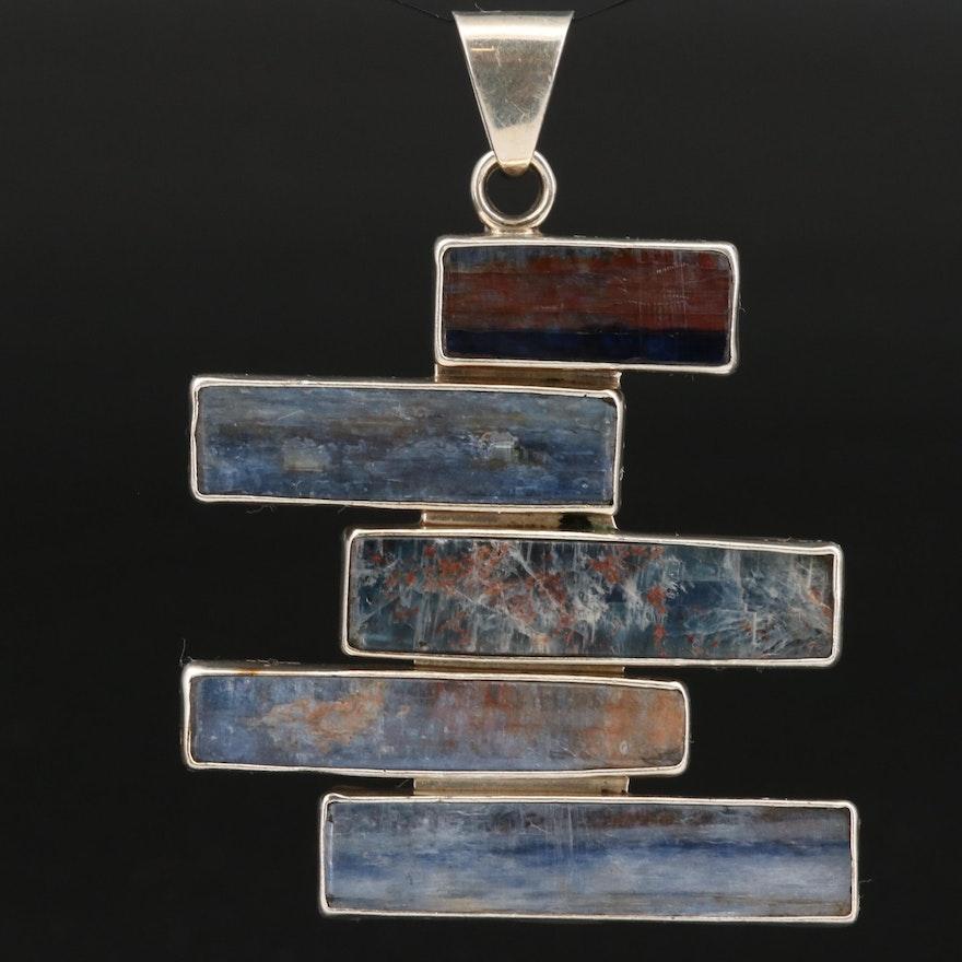 Charles Albert Sterling Silver Kyanite Pendant