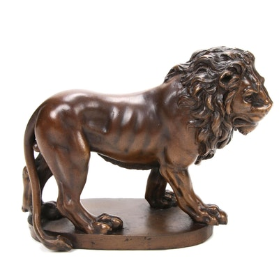 Metropolitan Museum of Art Reproduction Lion Figurine, 1991