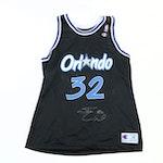 Shaquille O'Neal Signed Replica Orlando Magic Jersey