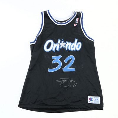 Shaquille O'Neal Signed Replica Orlando Magic Jersey