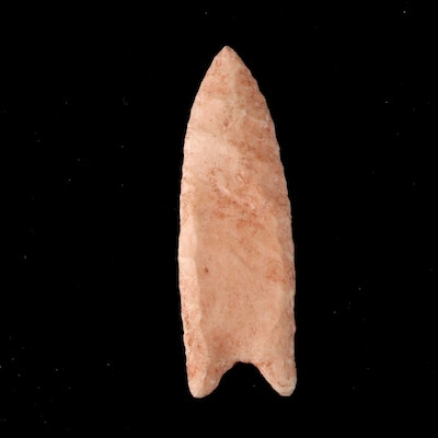 Knapped Stone Projectile Point