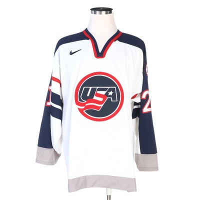 Cammi Granato Signed Replica U.S.A. Hockey Jersey