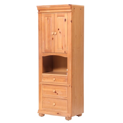 Broyhill Pine and Laminate Three-Drawer Cabinet, Late 20th Century