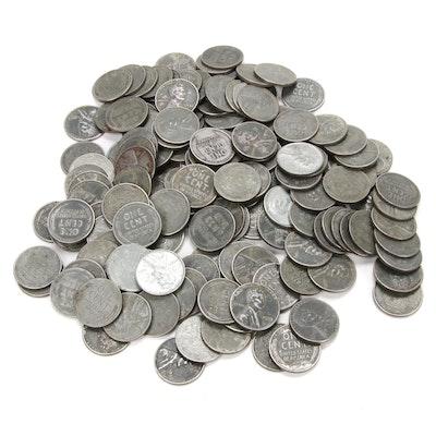 1943 Steel Wheat Pennies