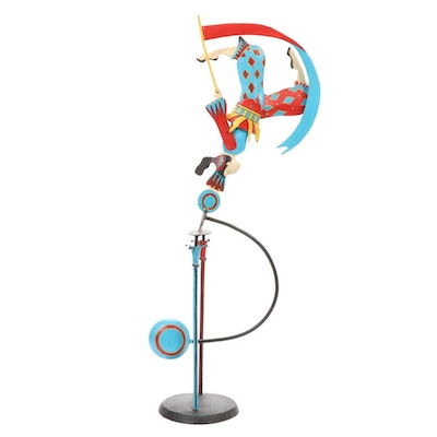Acrobat Balance Toy, Mid-20th Century