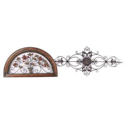 Openwork Metal Wall Decorations