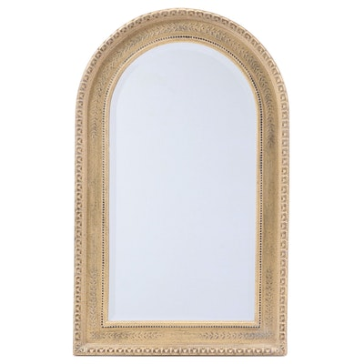 Second Look Gilt-Decorated Composite Mirror