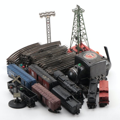 Lionel 2025 Locomotive, Type-ZW Transformer, Cars, Track, and Accessories