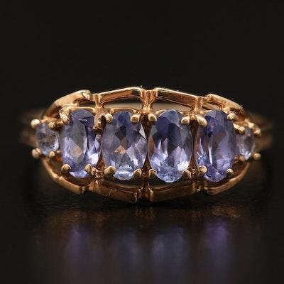 10K Tanzanite Ring