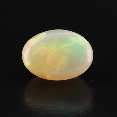 Loose 4.59 CT Oval Cabochon Opal