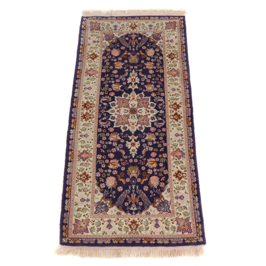 3' x 6'8 Hand-Knotted Persian Tabriz Carpet Runner