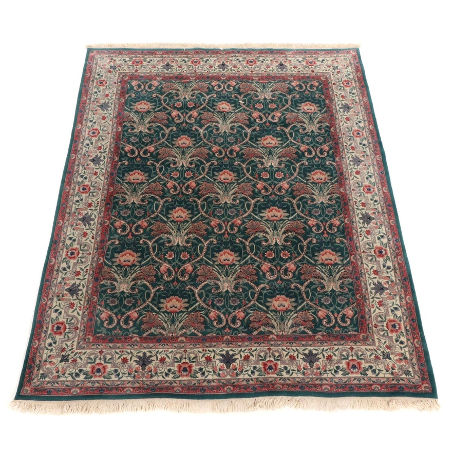 7'9 x 10'25 Hand-Knotted Persian Style Room Sized Rug