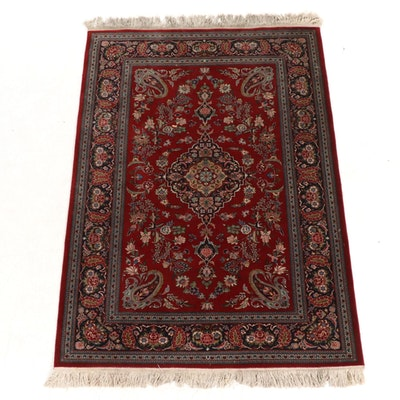 4'8 x 7'1 Hand-Knotted Persian Area Rug