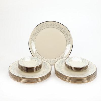 "Lenox ""Windsong"" Platinum-Trimmed Porcelain Dinnerware, 1965–1993"