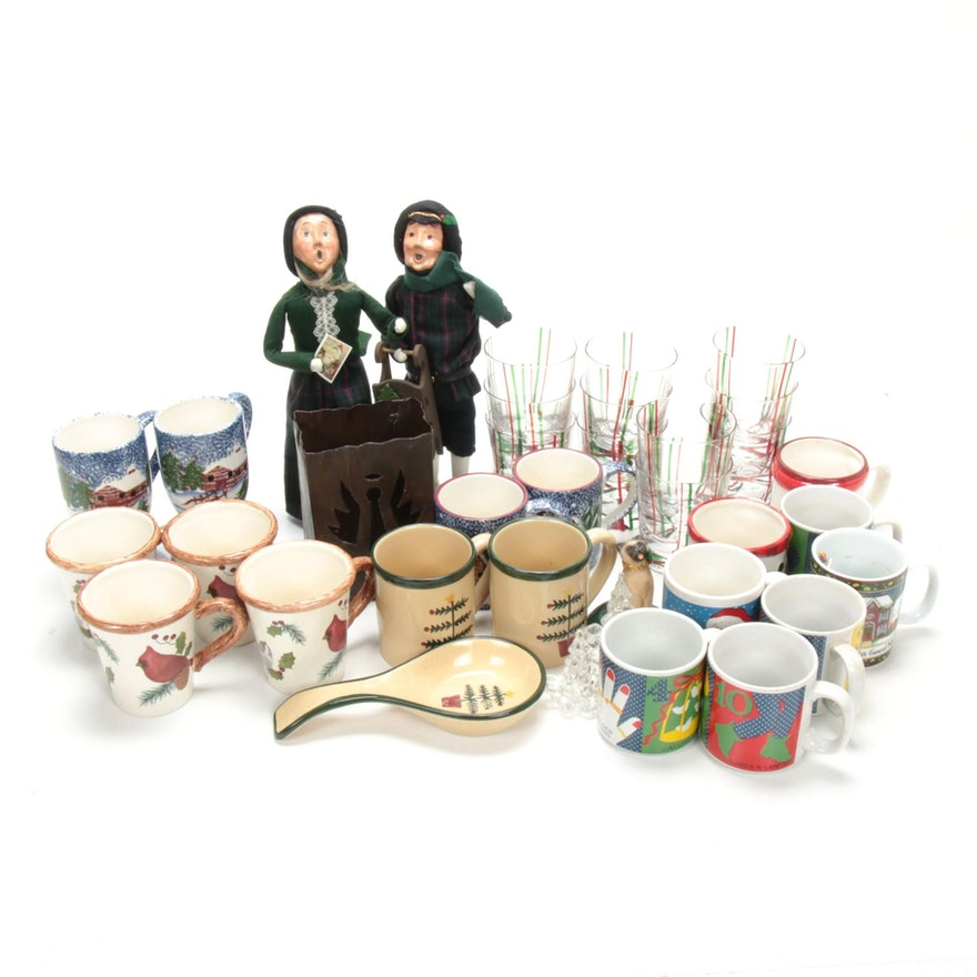 "Byers' Choice ""The Carolers"", Handcrafted Ornaments, Coffee Mugs and More"