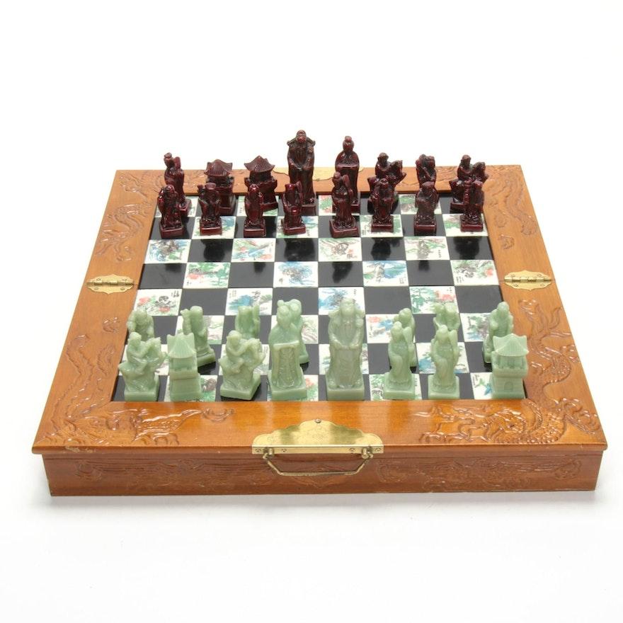 Chinese Travel Chess Set