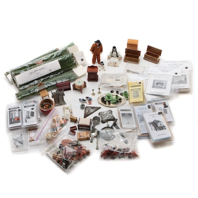 Northeastern Scale Models Inc. Kits and Other Miniature Furniture and Décor