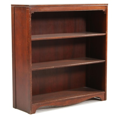 Mahogany Bookshelf, Mid to Late 20th Century