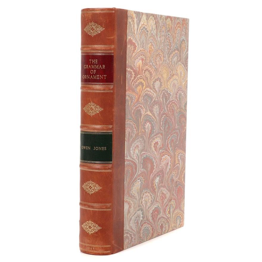 """The Grammar of Ornament"" by Owen Jones, 1868"