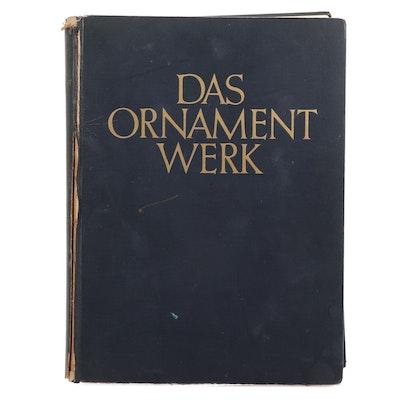 """Das Ornament Werk"" by H. Th. Bossert, 1937"