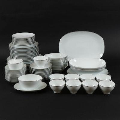 "Noritake ""Fremont"" Ceramic Dinnerware, Mid to Late 20th Century"