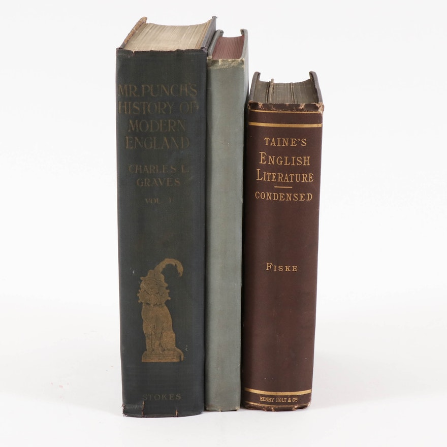 """""""Mr. Punch's History of Modern England"""" and Other Nonfiction Books"""