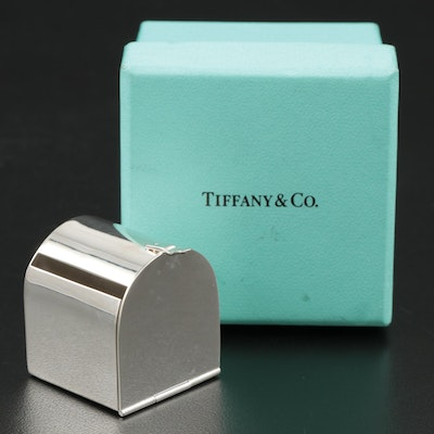 Tiffany & Co. Sterling Silver Stamp Dispenser with Box