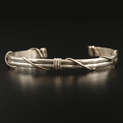 Kelly Jack Smith Sterling Silver Cuff