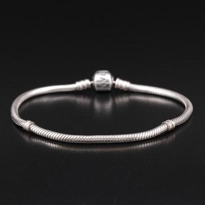 Pandora Sterling Snake Chain Bracelet