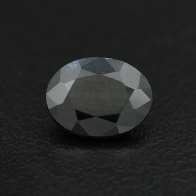 Loose 2.20 CT Oval Faceted Sapphire