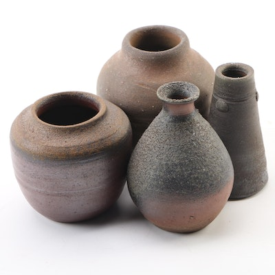 Japanese Pottery Vessels, 20th Century
