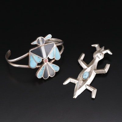 Southwestern Jewelry Including Patrick Yellowhorse Navajo Diné