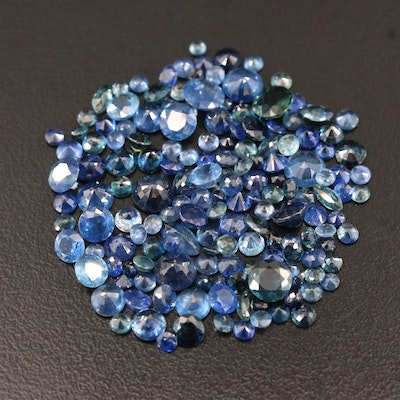 Loose 23.25 CTW Mixed Cut Sapphires