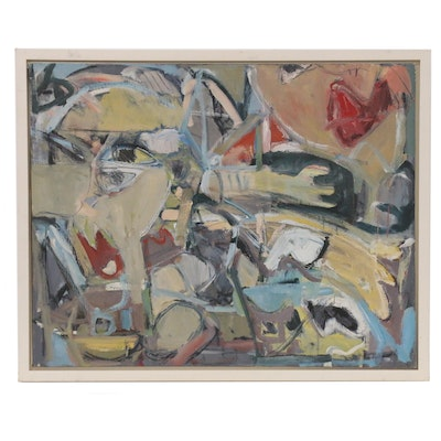 Richard Snyder Abstract Oil Painting