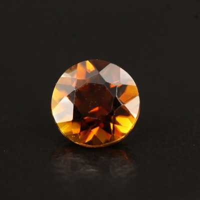 Loose 1.09 CT Round Faceted Tourmaline