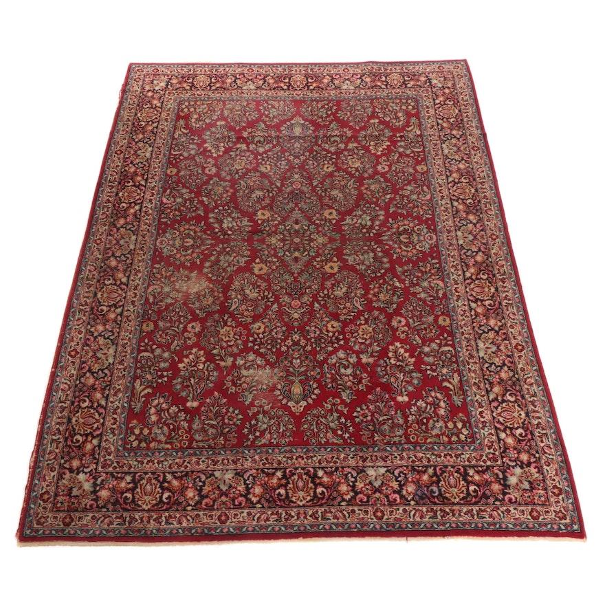 8'8 x 12'1 Hand-Knotted Persian Hamadan Rug