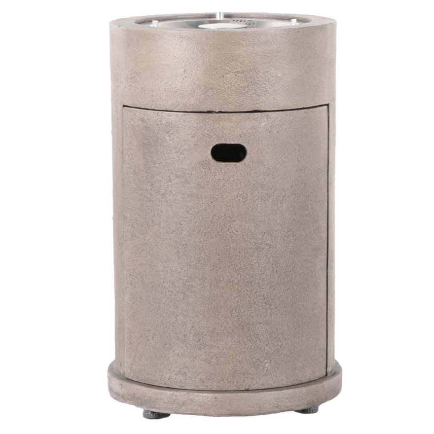 Bond Metal Gas Fire Column Propane Patio Heater