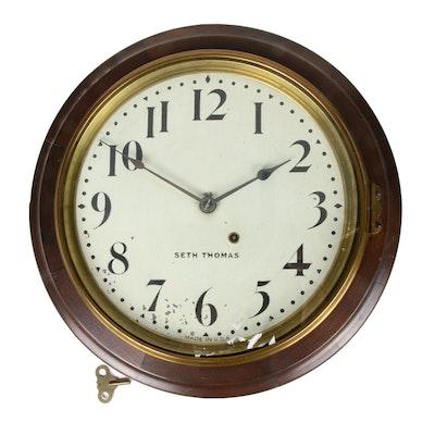 Seth Thomas 8-Day Mahogany Chatham Gallery Clock, c. 1904