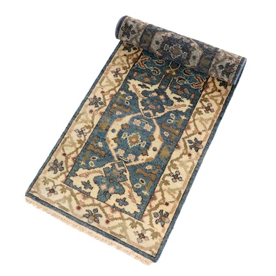 2'7 x 10' Hand-Knotted Oriental Runner Rug