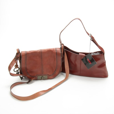 Hobo International and Fossil Leather Handbags