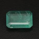 Loose 5.03 CT Rectangular Emerald