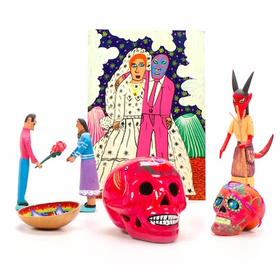 Mexican Folk Art by Julio Diaz, Jesus Lorenzo, Jaime Santiago Morales, and More