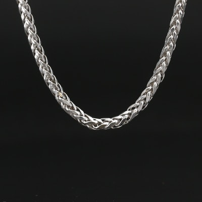 14K Foxtail Necklace