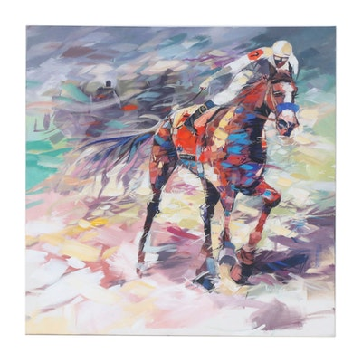 "Said Oladejo-lawal Acrylic Painting ""Justify"""
