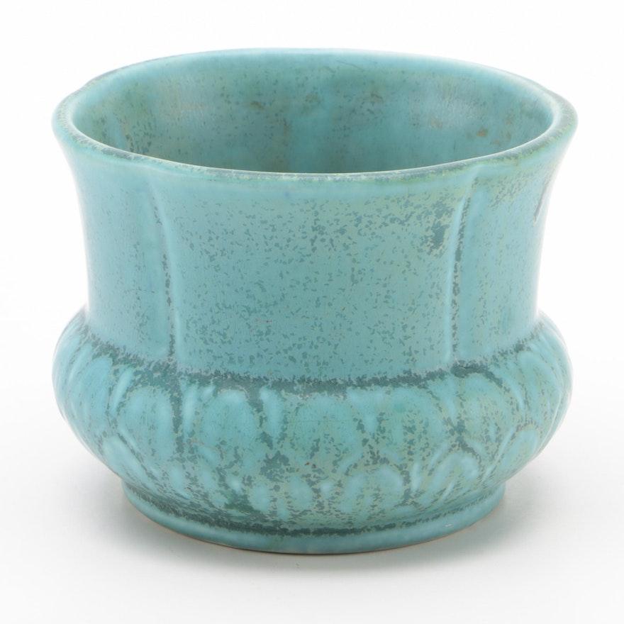 Rookwood Pottery Green over Blue Matte Glaze Production Vase, 1940