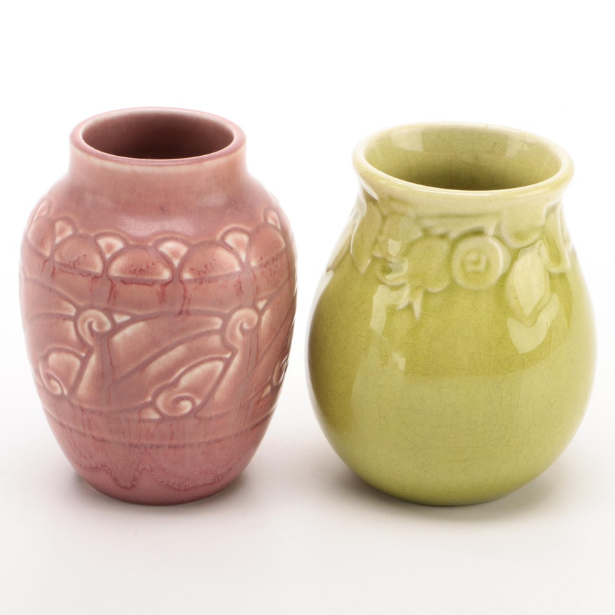 Rookwood Pottery Production Vases, Early to Mid 20th Century
