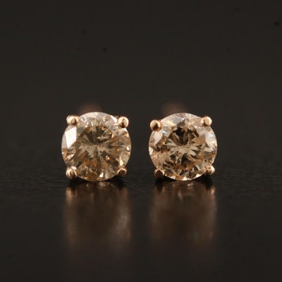 14K 0.34 CTW Diamond Stud Earrings
